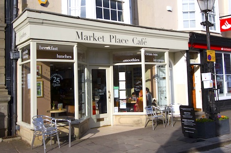 market place cafe in wells somerset